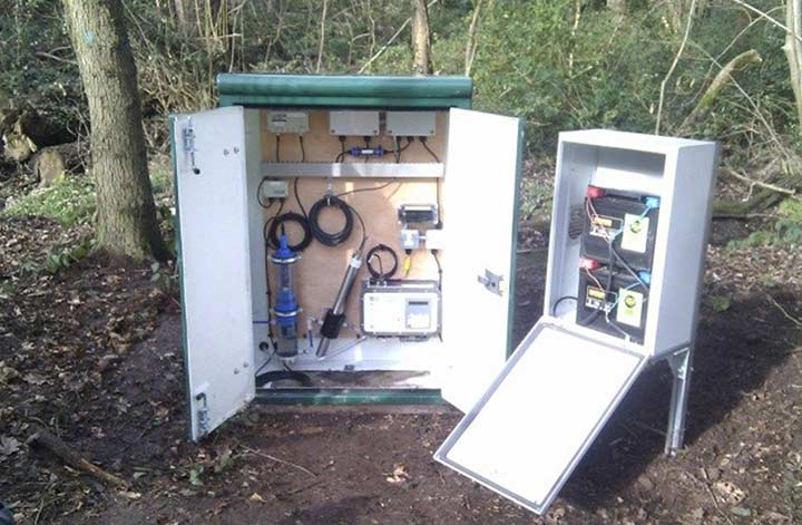 High resolution monitoring of dissolved organic matter and nutrient fluxes for the Birmingham Institute of Forest Research (BIFoR)