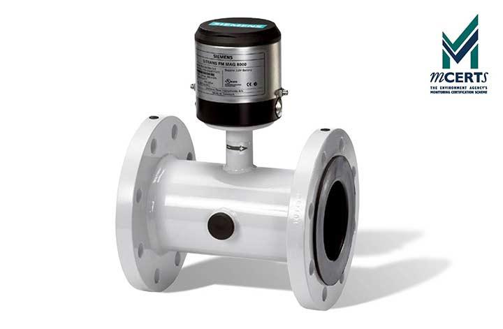 Battery Powered MAG 8000W Water Flow Meter