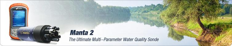 Eureka Manta 2 - The ultimate water quality monitoring sonde.